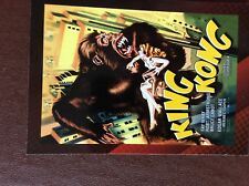 Ca4 Trade Card breygent classic sci fi & horror posters king kong 1933