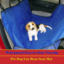 New Car Rear Back Seat Cover Pet Dog Cat Protector Hammock Safety Mat Waterproof