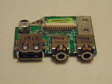 HP Pavilion ZD8000 Series USB Audio Board Jack 33NT2AB0008