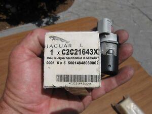 NEW 04-09 Genuine Jaguar XJ8 XJR PAINTED BLACK Reverse Proximity Sensor X350 JP