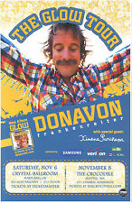 "DONAVON FRANKENREITER ""GLOW TOUR"" 2011 PORTLAND / SEATTLE CONCERT POSTER"