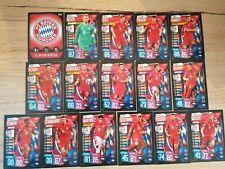 Topps Match Attax Uefa Champions League 2019/20 Team Set FC Bayern 16 Stück
