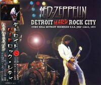 Led Zeppelin Detroit Hard Rock City 1973 3 CD Michigan COBO HALL BONUS TRACK