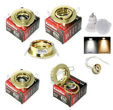 9 Watt LED Einbaustrahler Lana | 720 Lumen | 230Volt | Farbe Gold