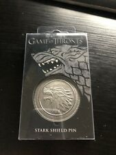 Game Of Thrones Stark Shield Pin Wolf Cosplay collectible gift Us seller