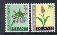 ICELAND MNH 1968 SG446-447 WILD FLOWERS