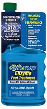 Star Tron Startron Enzyme Diesel Treatment 16oz Treats 512 Gallons - all Diesels