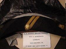 ORIGINAL 1890s-early1900 US PUBLIC HEALTH SERVICE Officers Dress Uniform Chapeau