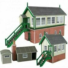 Metcalfe PN133 N Gauge Signal Box Set