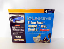 Heatsinks Installed! - Linksys Befsr41 Cable/Dsl Router 4-Port Switch - Used