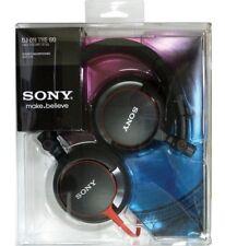 Sony Folding Swivel DJ On The Go Headphones Red Black MDR-V55/BR