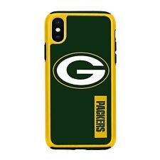 For Apple iPhone X Green Bay Packers Dual Hybrid 2 Piece Protective Case NFL