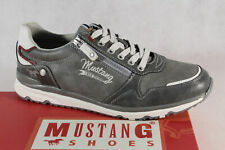 Mustang Men's Sneakers Low Shoes Trainers 4095 Grey New
