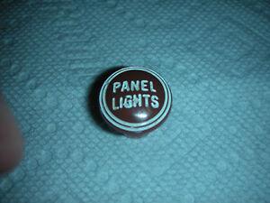 1939 desoto panel light knob