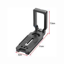 Universal  L Plate Bracket Quick Release QR Holder For Canon Nikon DSLR Camera