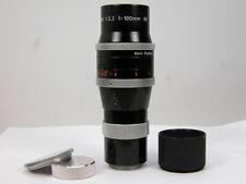New listing Kern-Paillard Yvar 100Mm C-Mount Lens For Bolex Filmo Bmpcc M4/3rds Nice!