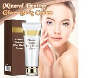Mineral Healthy Glow Body Cream Volcanic Mud Mask Fast Skin Whitening Cream Deep