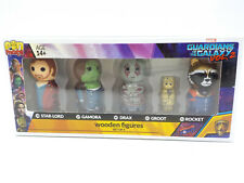 Marvel Pin Mate Wooden Figure Set, Guardians Of The Galaxy Vol 2