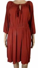 George Thigh-Length Scoop Neck 3/4 Sleeve Dresses for Women