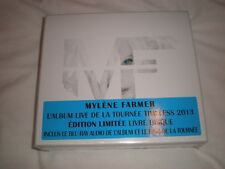 mylene farmer mf édition limitée livre disque