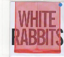 (FD186) White Rabbits, Temporary - 2012 DJ CD