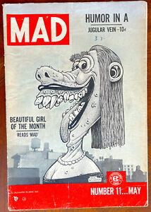 MAD #11 -  Classic EC Comic! Very Good (4.0)  Tight copy!  May 1954