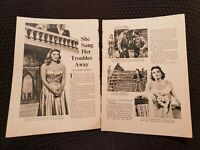 She Sang Her Troubles Away - Julie London - Vintage Hollywood - Book Print
