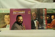 lot 4 33 lp records Louis Armstrong a Remembrance Piano rags Scott Joplin A Hirt