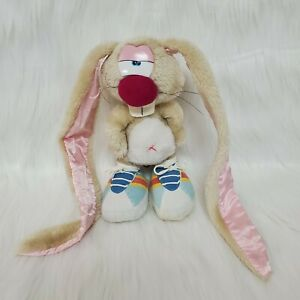 "Vintage 10"" Applause Jackson Rabbit Wallace Berrie Plush Toy Long Ears B219"