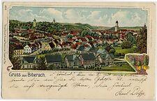 BIBERACH Oberamt * AK um 1900 Rosenblatt Ffm
