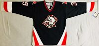 1997 Dominik Hasek Buffalo Sabres Black Jersey Size Men's Large