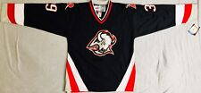 1997 Dominik Hasek Buffalo Sabres Black Jersey Size Men's Medium
