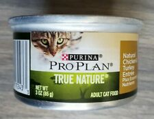 New listing 65 Purina Pro Plan Natural Chicken and Turkey Entrees Wet Cat Food, 3 Oz Cans
