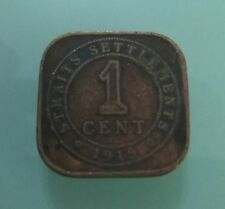 Willie: 1919 strait Settlement 1 cent