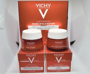 Vichy Liftactiv Set 1)Collagen Special 2)Hyalu Mask 3)Eye Micro Hyalu Patches