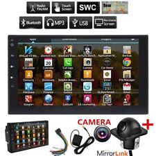 """Android 6.0 7""""Double 2 Din Car Radio Gps Player Wifi Bt Navi With Backup Camera."""