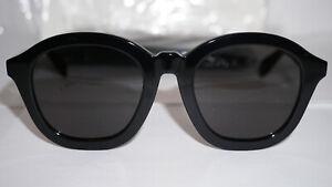 CELINE Sunglasses New Black Grey CL40017F 01A 53 22 145