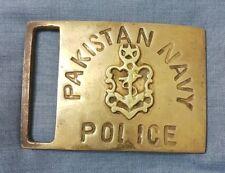 Pakistan Navy POLICE Belt Buckle