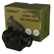 Field Sport Red and Green Micro Dot Sight