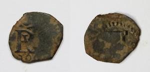 1 Maravedi Felipe III (1600-1619) . Ceca And Date No Visibles. 14mm Diameter