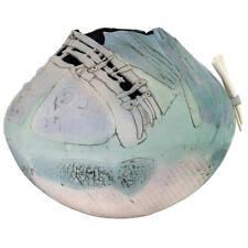 Signed Markiewicz Extra Large Ceramic Clay Vessel Vase Bowl