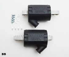 Dynatek DC10-1 Ignition Coils 5.0 ohms Single Output Black Sold In Pairs