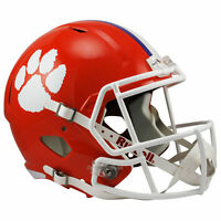 CLEMSON TIGERS RIDDELL SPEED FULL SIZE REPLICA FOOTBALL HELMET