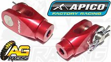 Apico Red Rear Brake Clevis For Honda CRF 250R 2004-2016 04-16 Motocross Enduro