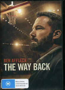 The Way Back DVD NEW Region 4 Ben Affleck