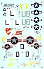 Xtra Decals 1/72 CONSOLIDATED B-24H LIBERATOR Queen of Hearts & Alfred II
