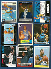 Lot of 9 Dwight Howard Basketball Cards w/ Topps Total CL Rookie Card Magic