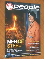 August 2003 Holden People magazine inc VY series 2 Calais and SS poster 12 pages