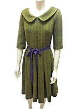 ERIKA CAVALLINI abito collezione inverno SEMI COUTURE lana mohair alpaca