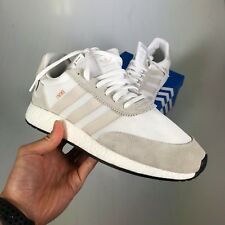 Adidas Boost Iniki Runner I-5923 White Suede Originals (BB2101) - US 10